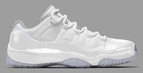 competitive price 1b827 cdb97 Could This Be The Air Jordan 11 Low GS White Pure Platinum ...