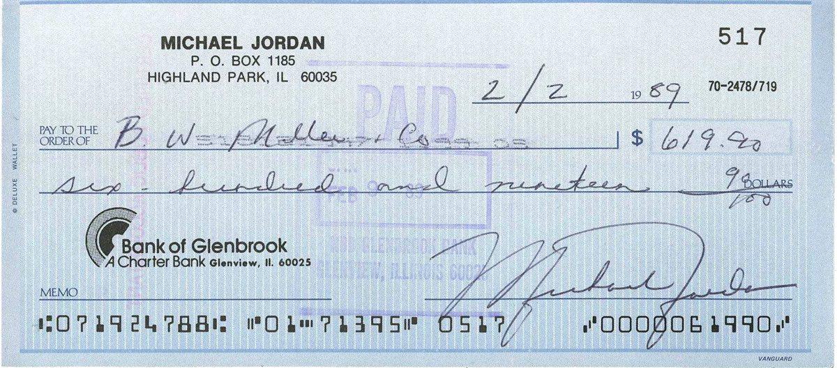 cheap for discount d8134 3d9af The Fine Print: How Michael Jordan's Autograph Changed ...