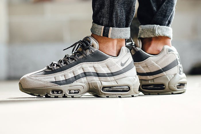 new product bb56c 65349 While the Dave White Albion pack is releasing tomorrow, the Nike Air Max 95  Essential is rendered in another solid colorway to kick-off Autumn.