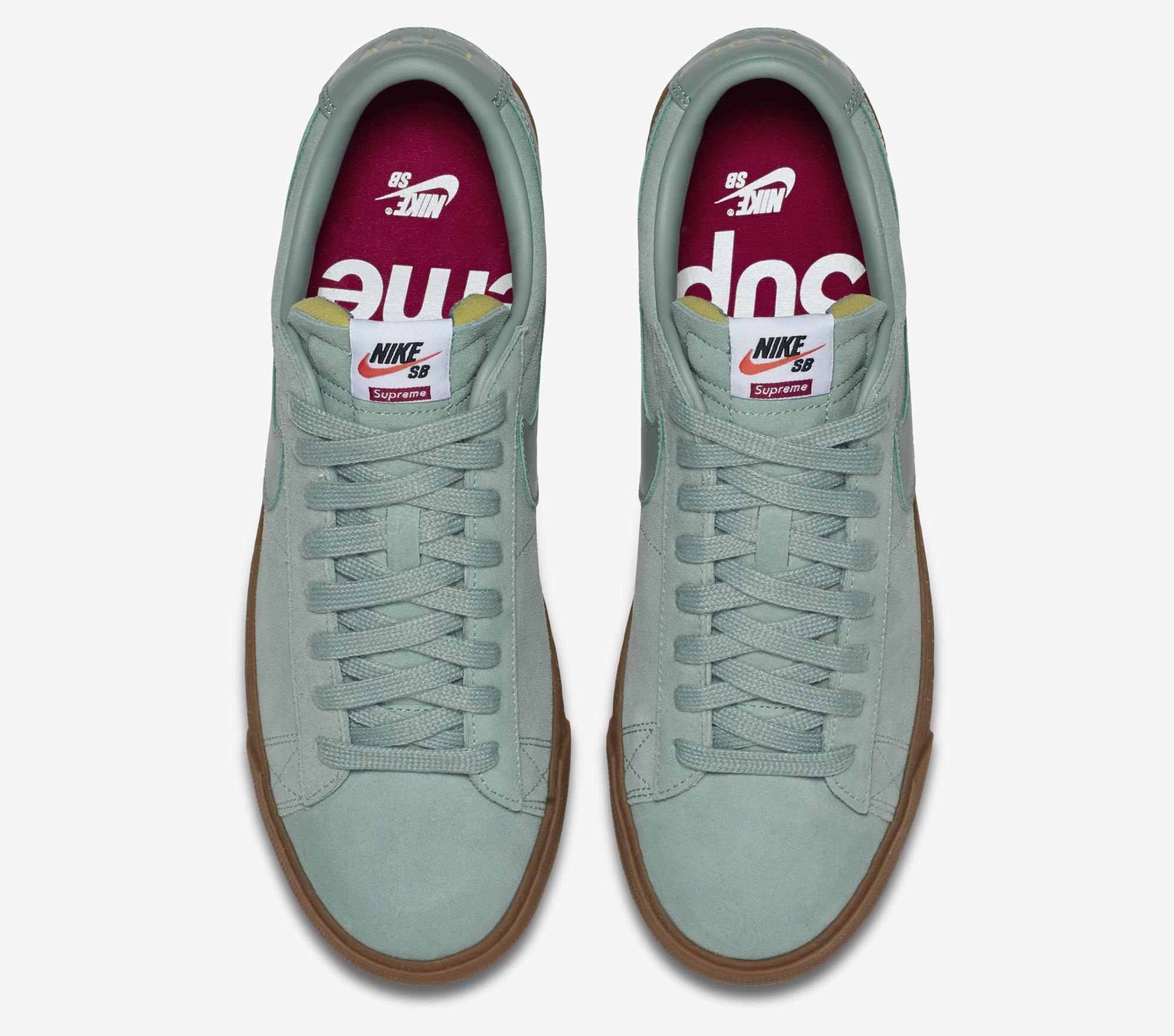 sale retailer 0bff1 38e3b You Can Buy The Supreme x Nike SB Blazer Low GT Again ...
