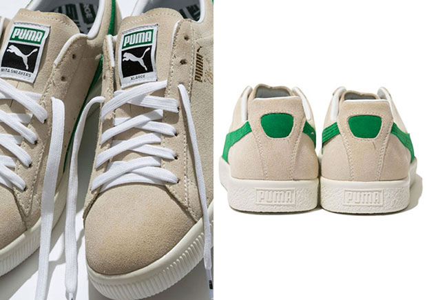 differently ec01f 62d2c Our First Look At The XLARGE x mita sneakers x PUMA Clyde ...