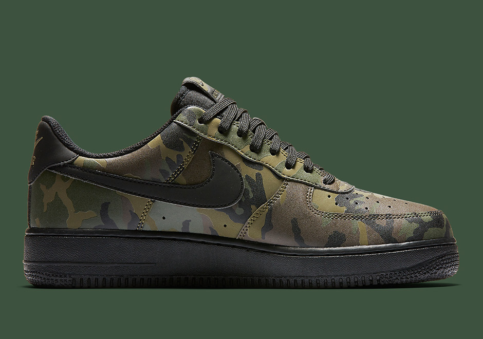 Will Release Nike Reflective Camo Black Force Low 1 This On Air qzpSMVGU