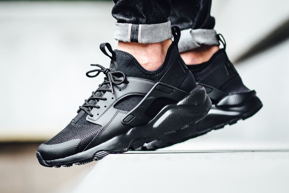 The Nike Air Huarache Ultra Is Also Available In Triple Black ...
