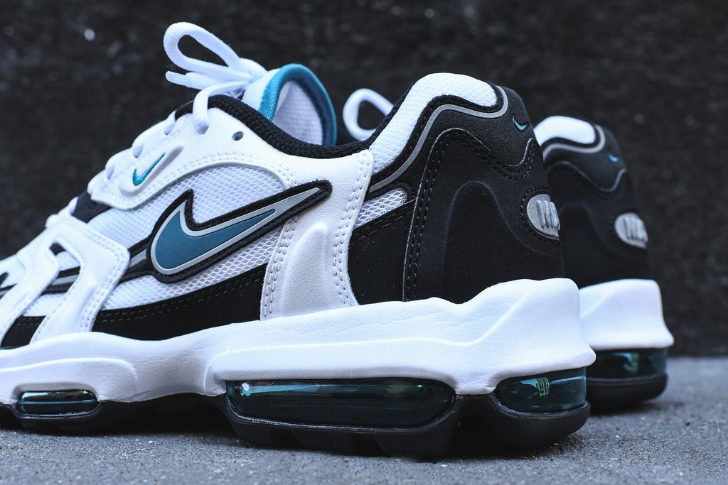 new high quality outlet boutique finest selection Pick Up The Nike Air Max 96 XX In White And Teal Today ...