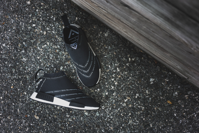 super cute a865d 53660 The White Mountaineering x adidas NMD City Sock Released ...