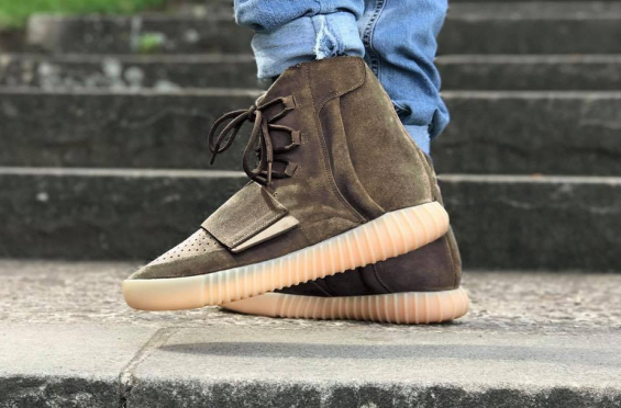 The adidas Yeezy Boost 750 Light Brown