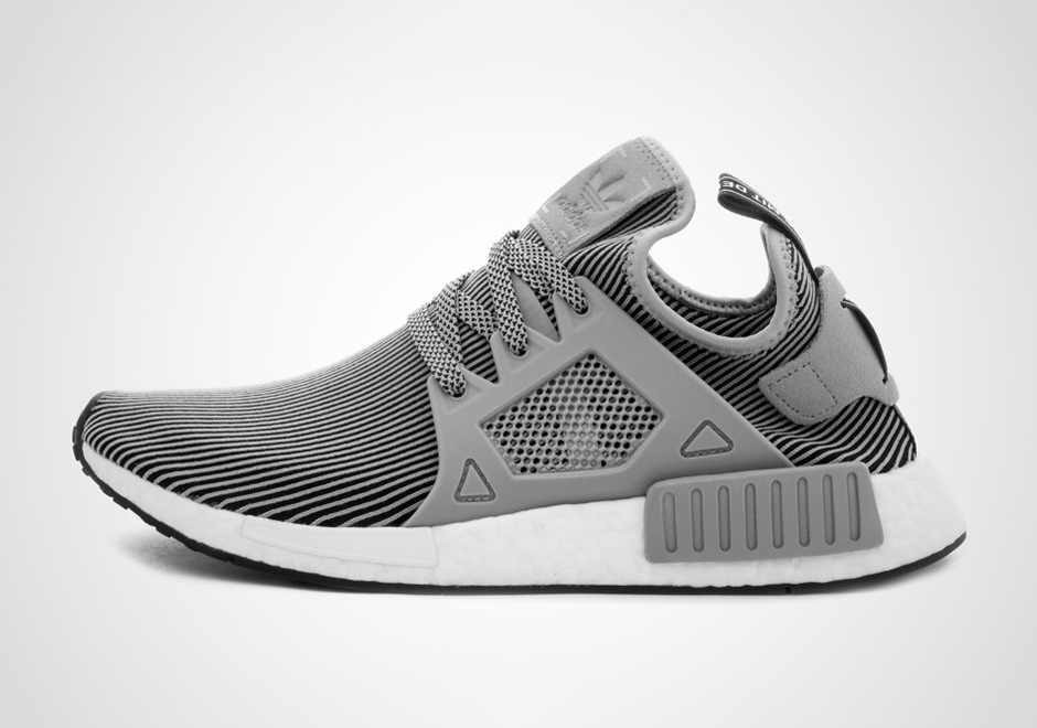 new york 65d4f 91793 Light Grey And Black Grace The Upper Of This adidas NMD XR1 ...