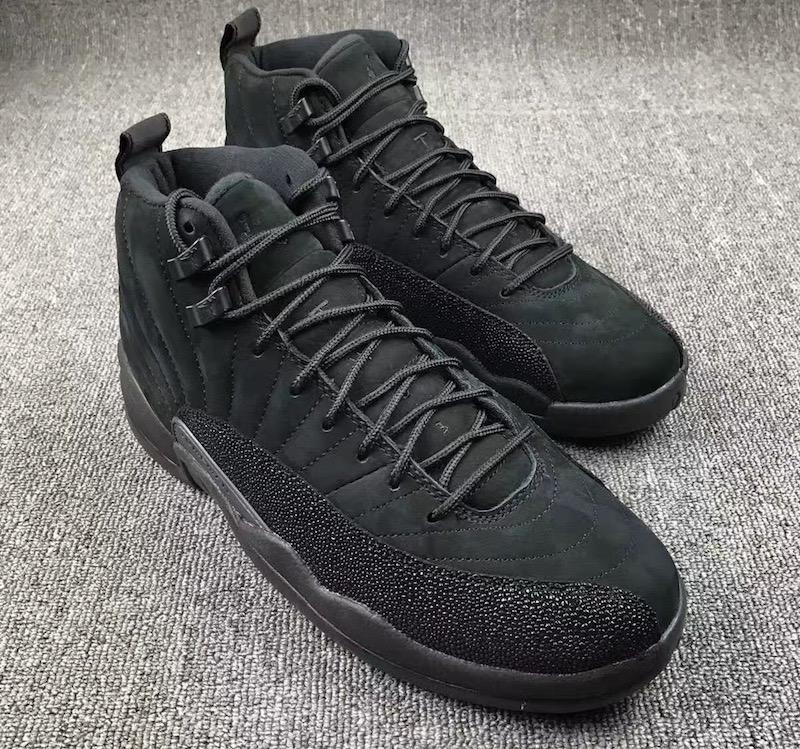 Air Jordan 12 OVO Black • KicksOnFire.com