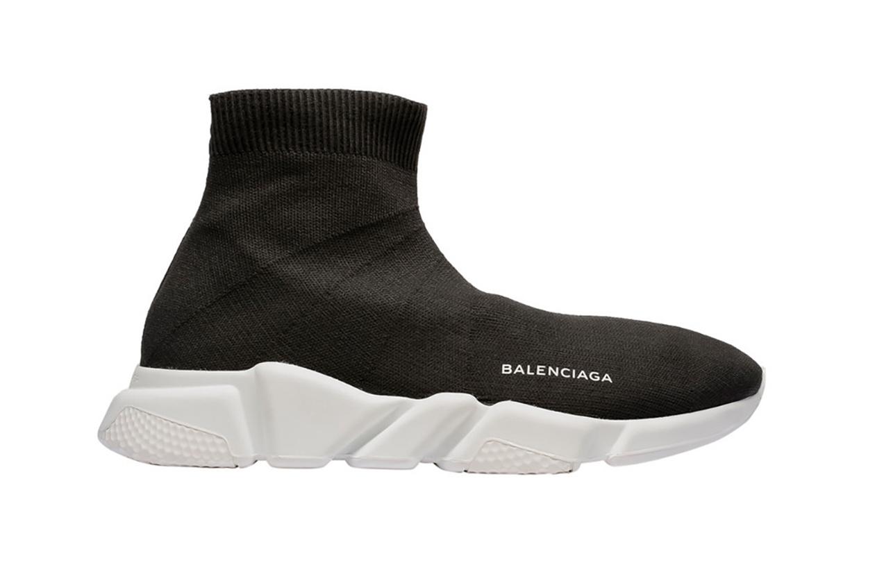 The Balenciaga Speed Trainer In Black