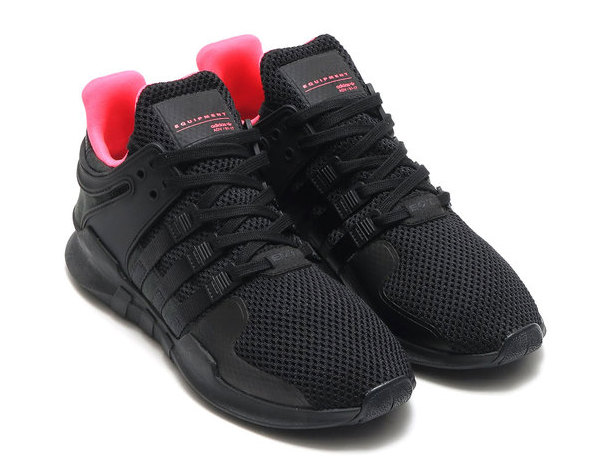 purchase cheap 17691 2c1b0 Black, Pink, And White Shine On The adidas EQT Support Turbo ...