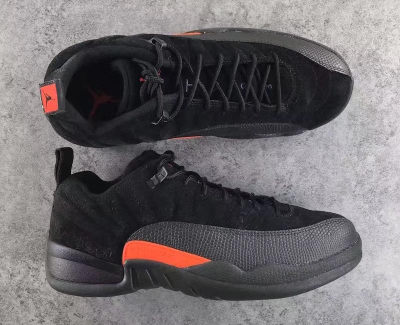 The Air Jordan 12 Low Max Orange Debuts