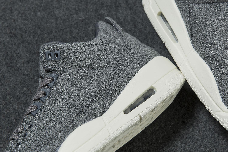 super popular 000de eaaec Here's What The Air Jordan 3 Wool Looks Like On-Feet ...