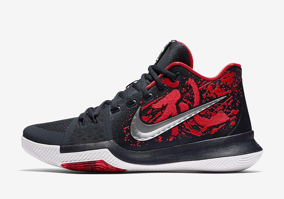 new style c2930 2430c Nike Kyrie 3 Samurai • KicksOnFire.com