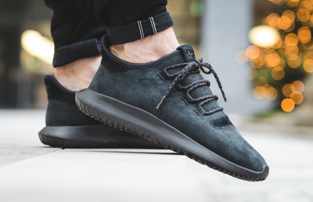 reputable site 0c245 e7958 Smooth Suede Drapes This Stealthy adidas Tubular Shadow ...
