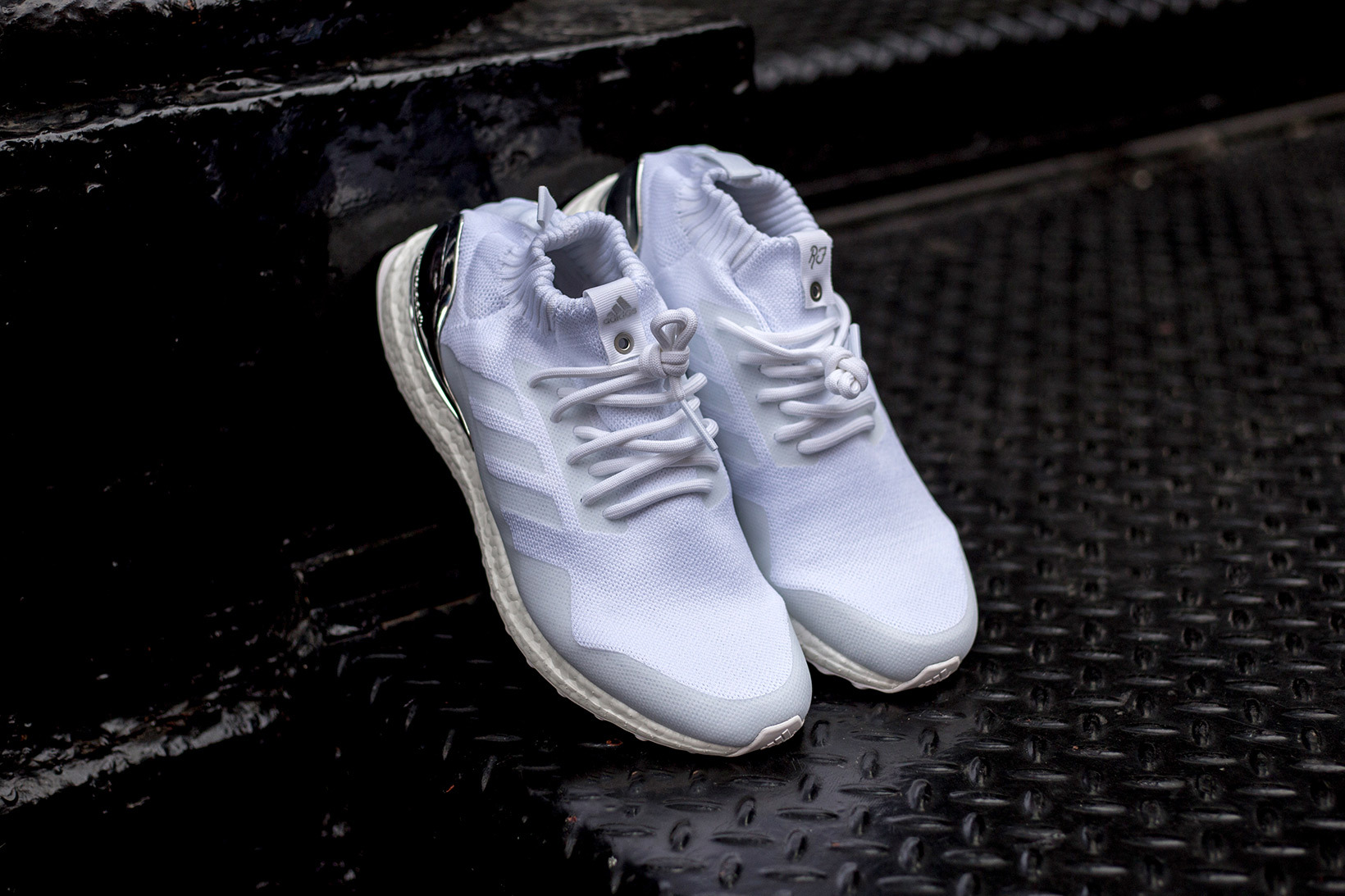 cute cheap classic style nice shoes Our Best Look Yet At The KITH x adidas Ultra Boost Mid ...