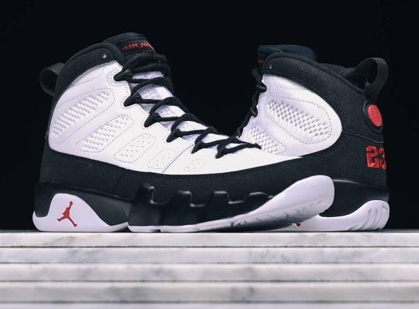 wholesale dealer 5cc3d 51b2a A Close Up Look Of The Air Jordan 9 Space Jam • KicksOnFire.com