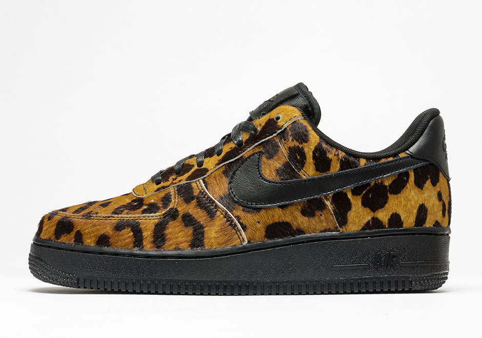 NikeLab Adds Animal Prints to New Women's Air Force 1 Lows