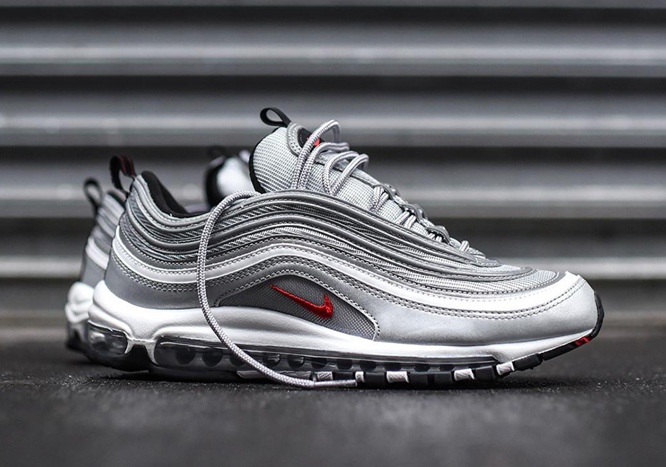 Surprise: The Nike Air Max 97 Silver Bullet Is Popping Up At