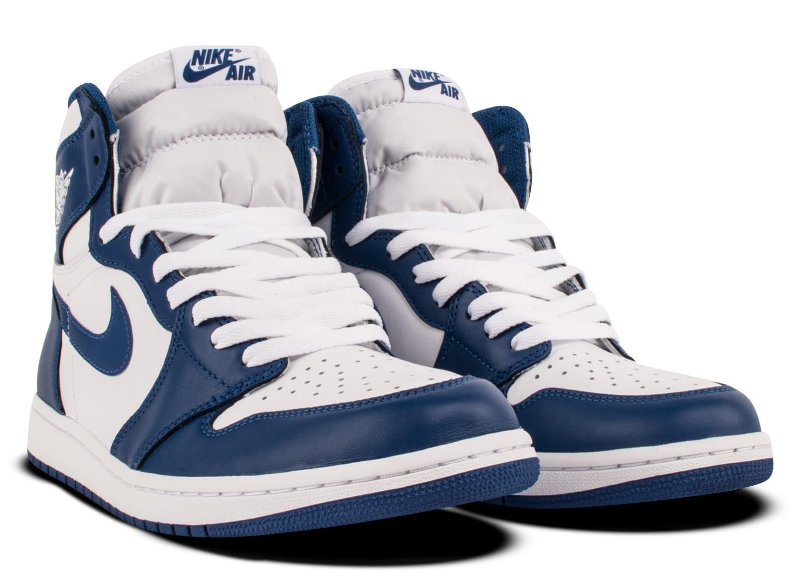 sports shoes 60a67 c4ea6 Air Jordan 1 High OG Storm Blue • KicksOnFire.com
