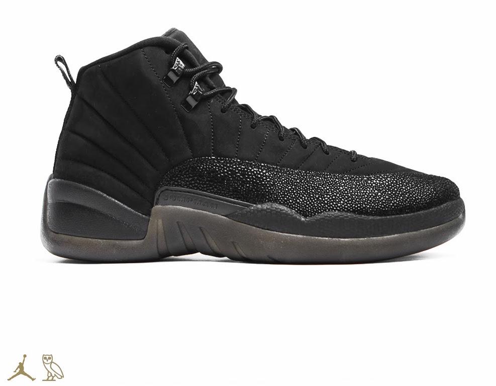 Air Jordan 12 OVO Black Will Release