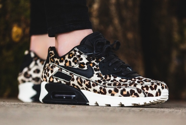 Leopard Print Covers The Nike Air Max