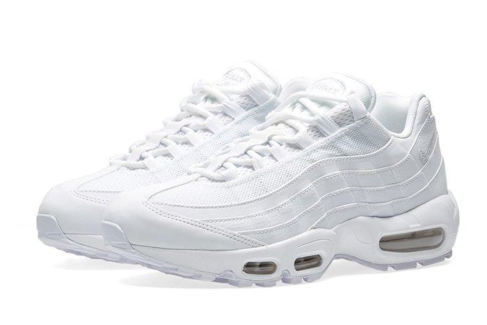 Nike Air Max 95 Dons The Triple White