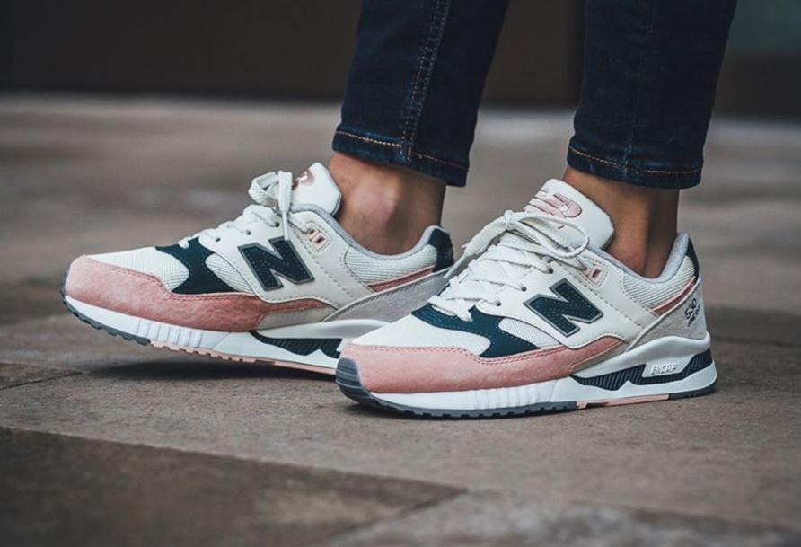 new balance pink and navy