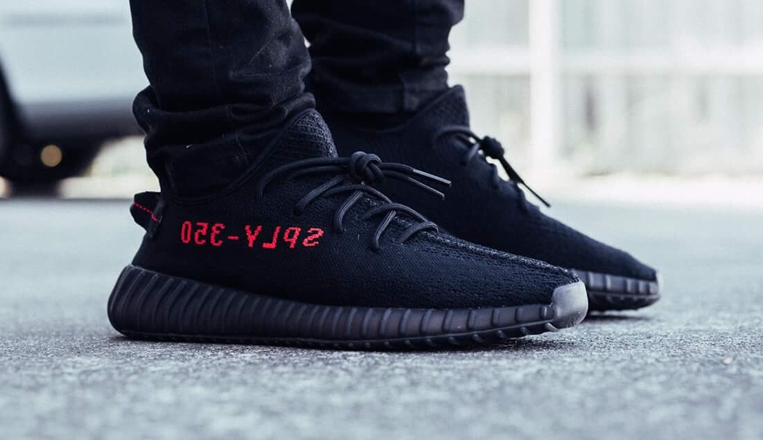 competitive price a081d 37d4d The adidas Yeezy Boost 350 v2 Black Red Drops In A Few Weeks ...