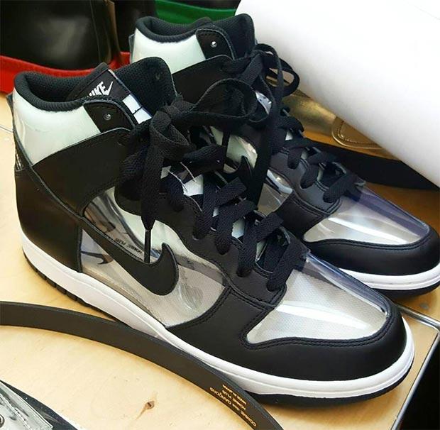 regard détaillé 2868f d3a35 The COMME des GARÇONS HOMME Plus x Nike Dunk High Dropped In ...