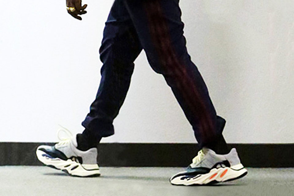 more photos 70c9f 783b1 Was Kanye West Spotted Wearing A New adidas Yeezy Model ...