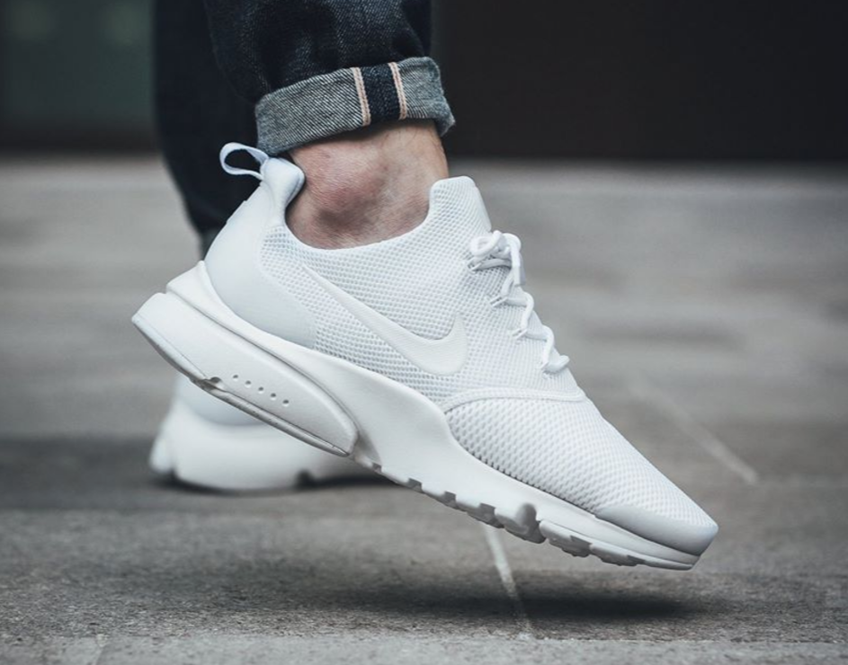 Effortless Style With The Nike Air Presto Fly Triple White ...