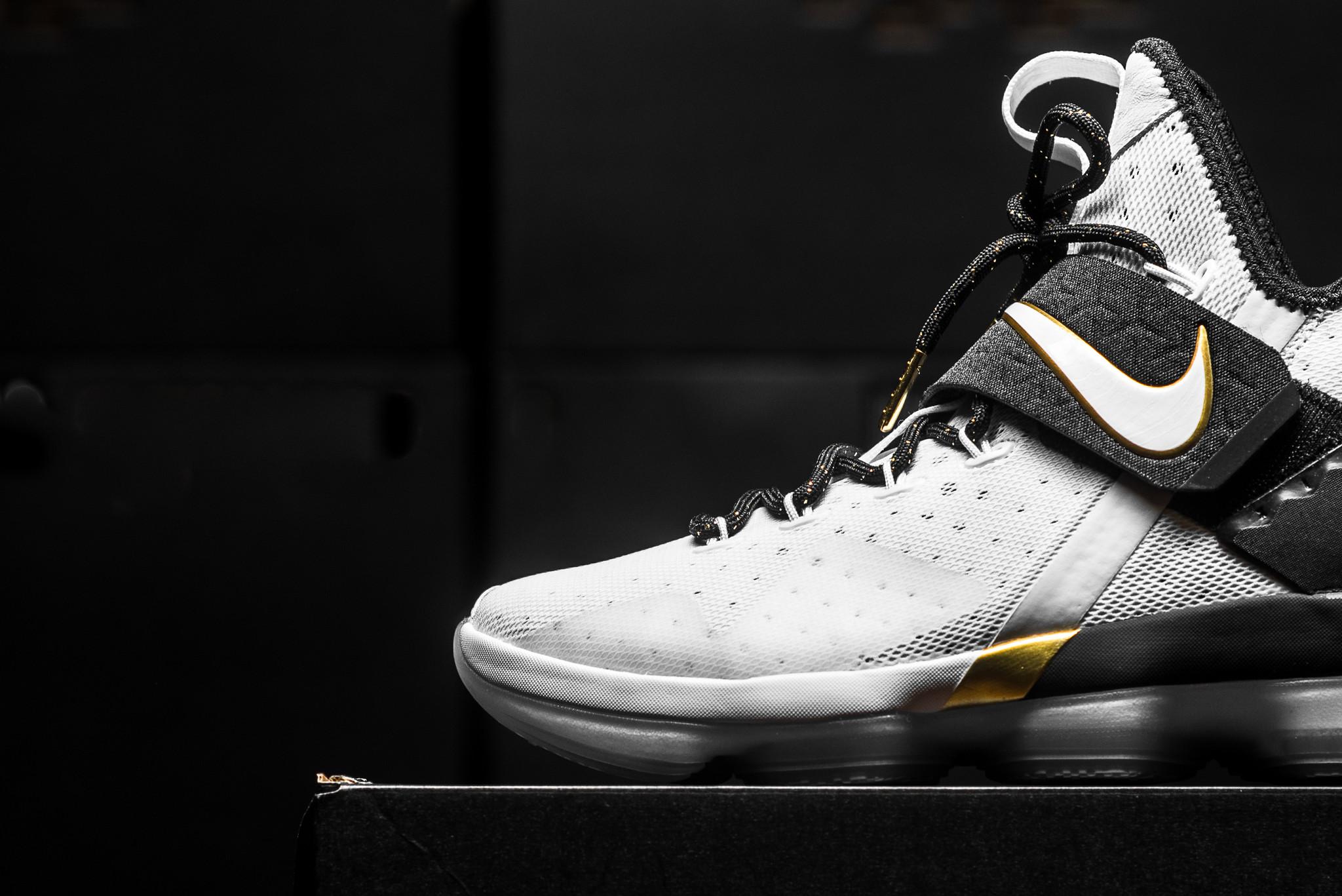 big sale bc2cb ada72 The Nike LeBron 14 BHM Debuts Tomorrow