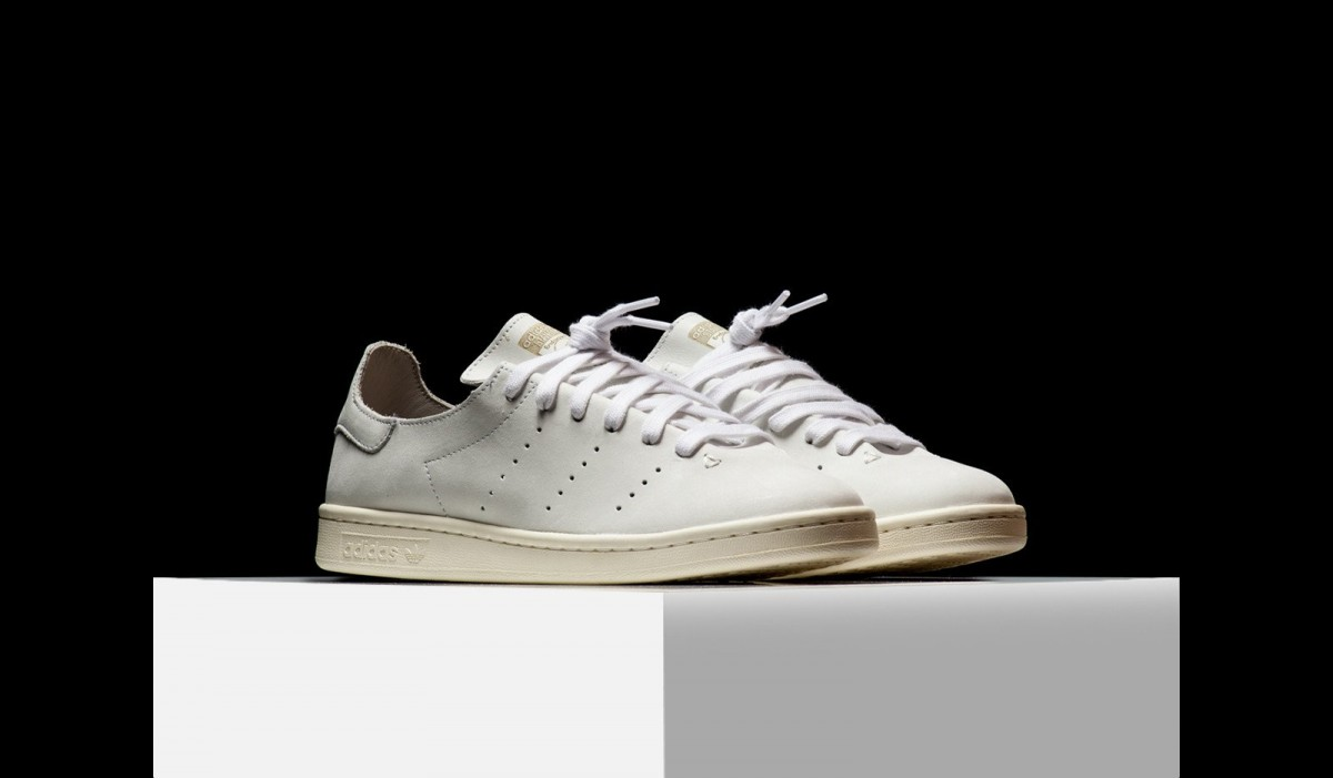 A White Upper Lands On The adidas Originals Stan Smith