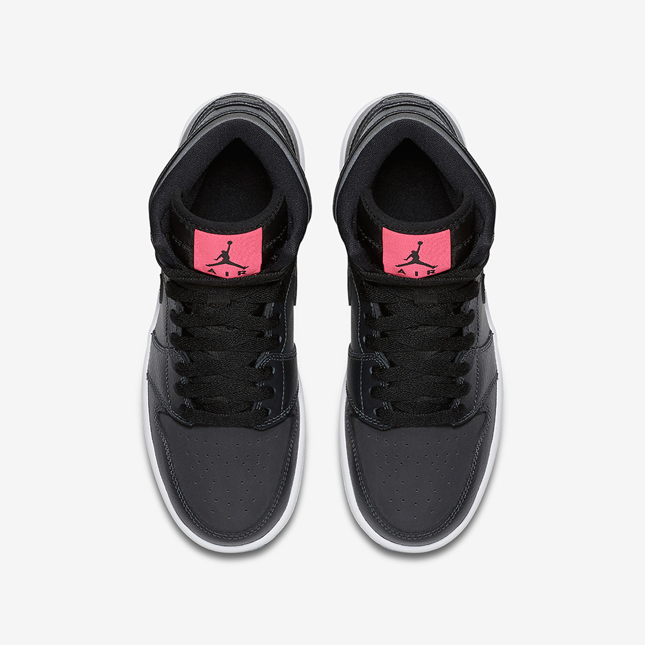 free shipping 4834a 1cc5e Another One: More Black and Pink Air Jordan 1s Are On The ...
