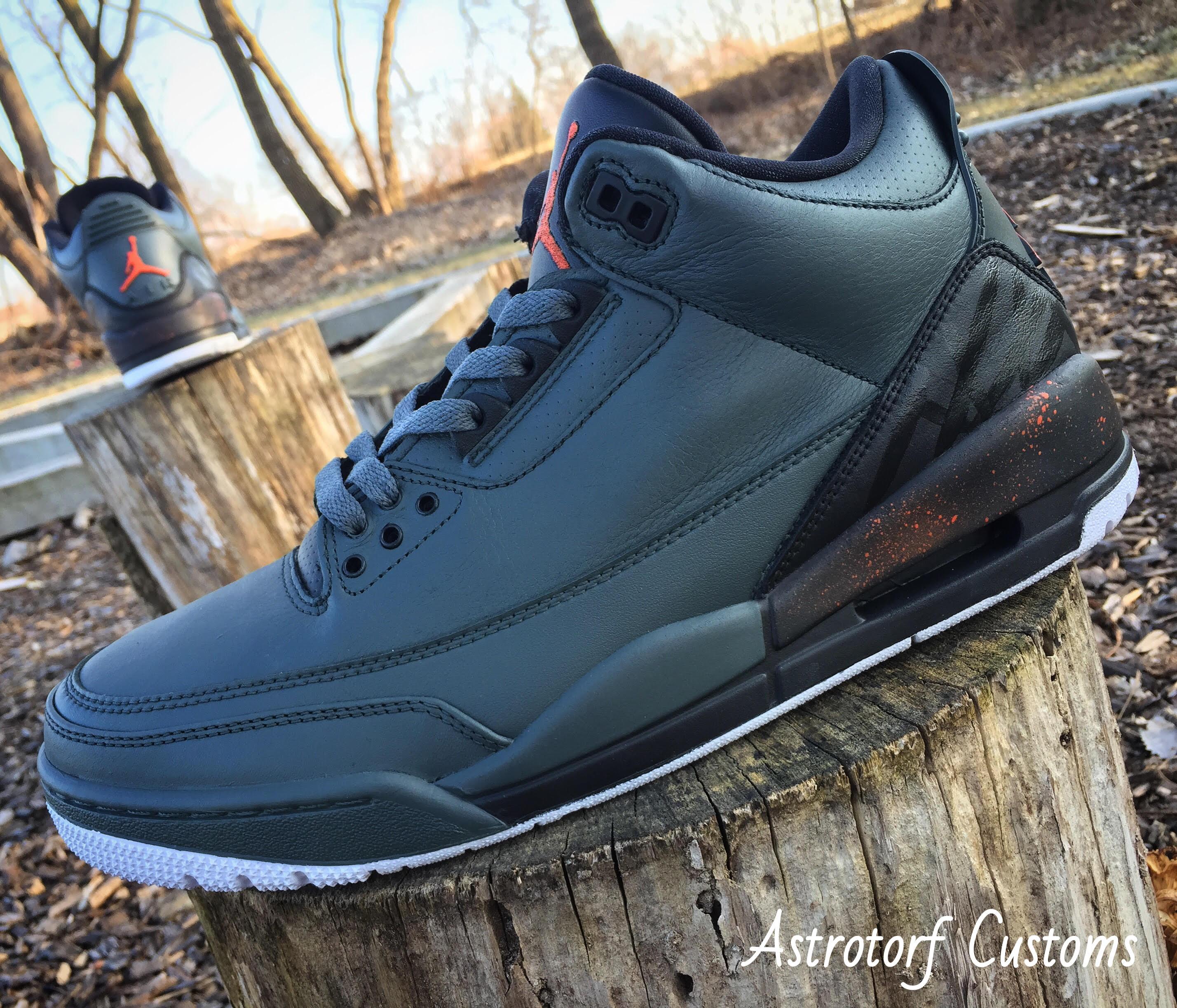 Air Jordan 3 Take Flight Custom