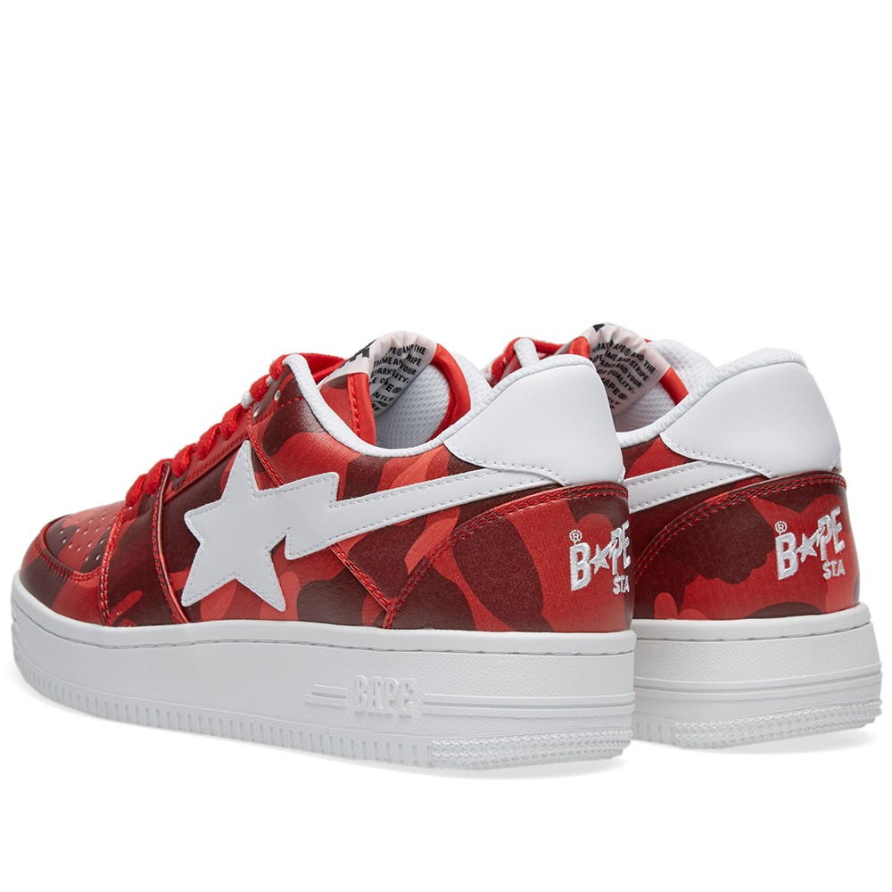 hot sale online 2dc08 62163 Just a heads up for everyone looking to get a pair from the A Bathing Ape  Bapesta Color Camo, all three colorways are now up for grabs!