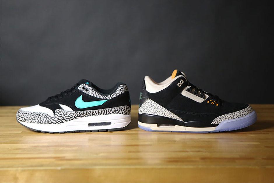 Atmos x Air Jordan 3 (Nike Air Max 1