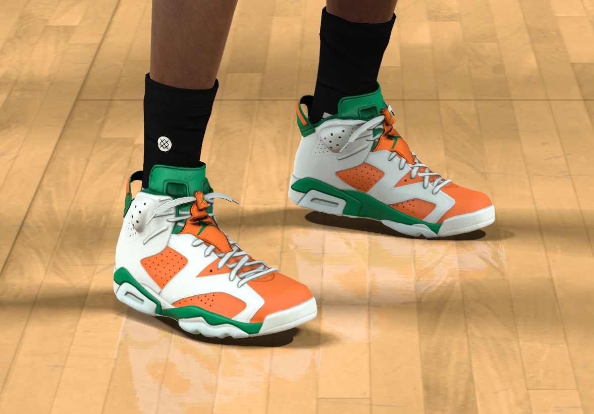 free shipping 1df26 323da NBA 2K17 Kicks: The Many Ways The Air Jordan 6 Gatorade ...