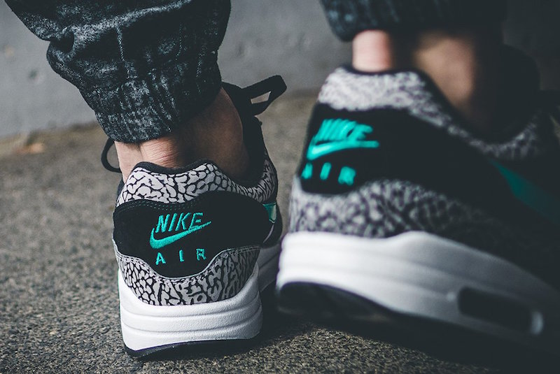 Here's What The Nike Air Max 1 Atmos Elephant Looks Like On