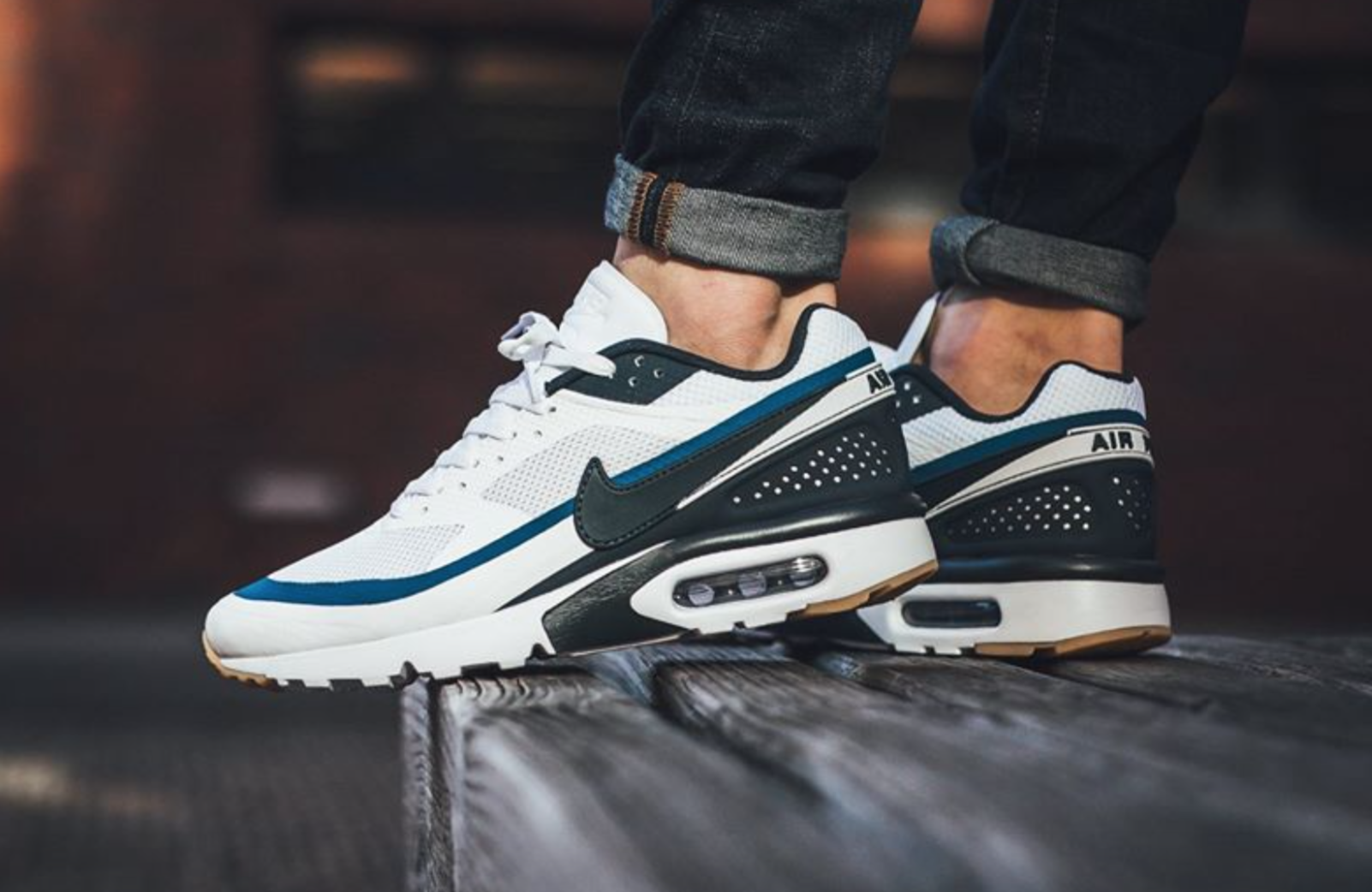 hot sale online 8b3ec 4ab50 Last featured in the classic BRED theme, the Nike Air Max BW Ultra is  treated in another versatile colorway of white armory navy for its  Spring Summer 2017 ...
