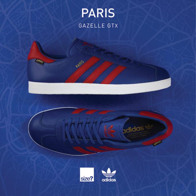 best authentic discount sale authentic quality The size? x adidas Originals Gazelle GTX Paris Arrives In A ...