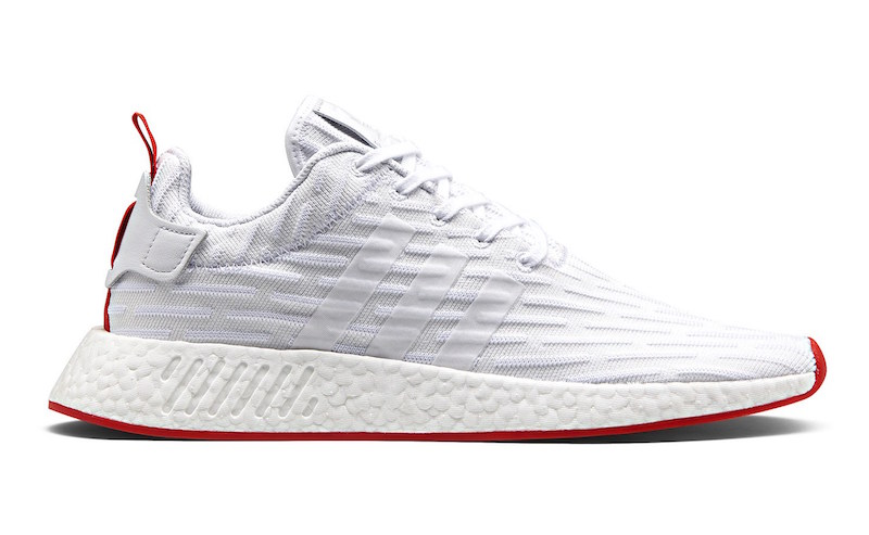 new style 24dcb d3bdf Look For The adidas NMD R2 In White And Core Red To Drop ...