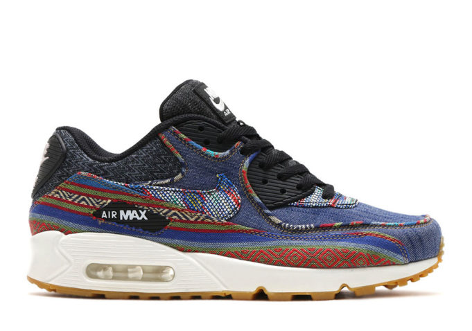 This Nike Air Max 90 Comes With An Upper Covered In Tribal