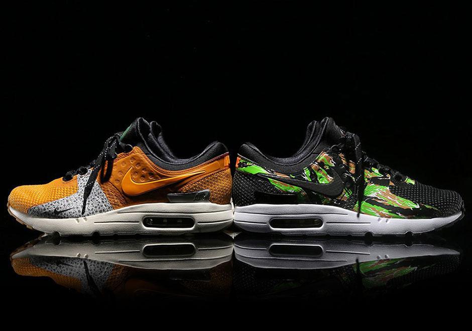 The atmos x Nike Air Max Zero NIKEiD