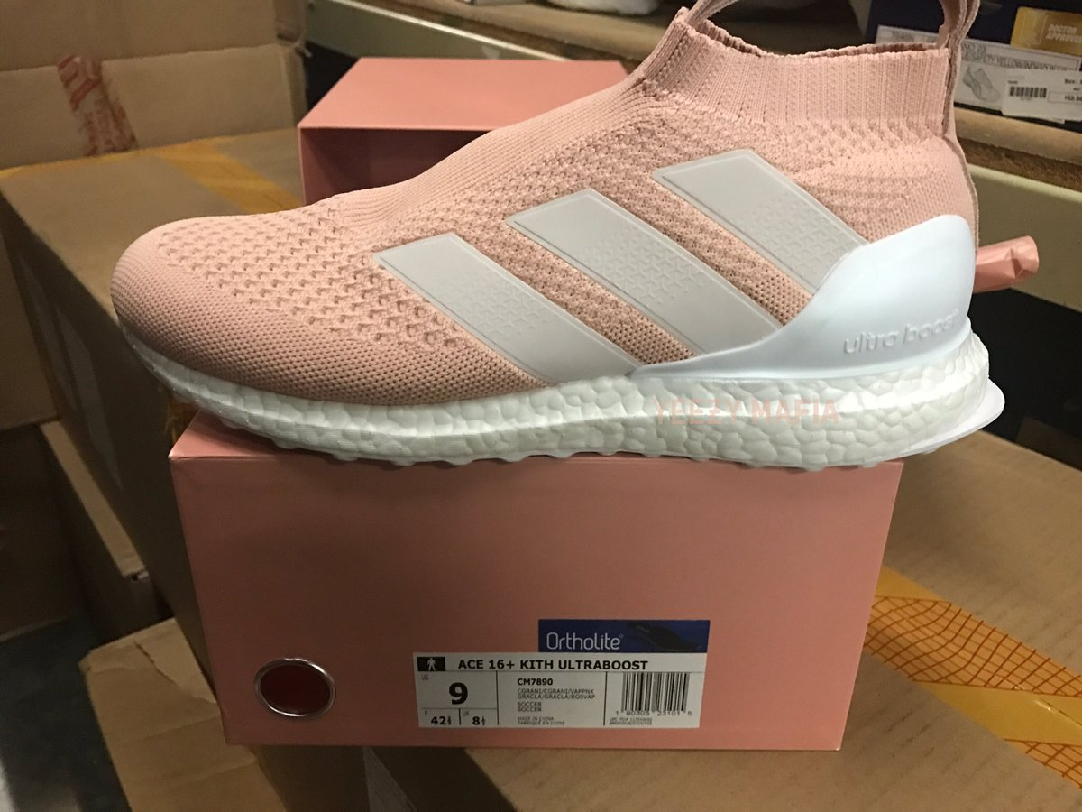 low priced 6dc9b c8869 First Look At The KITH x adidas Ace 16+ Ultra Boost ...