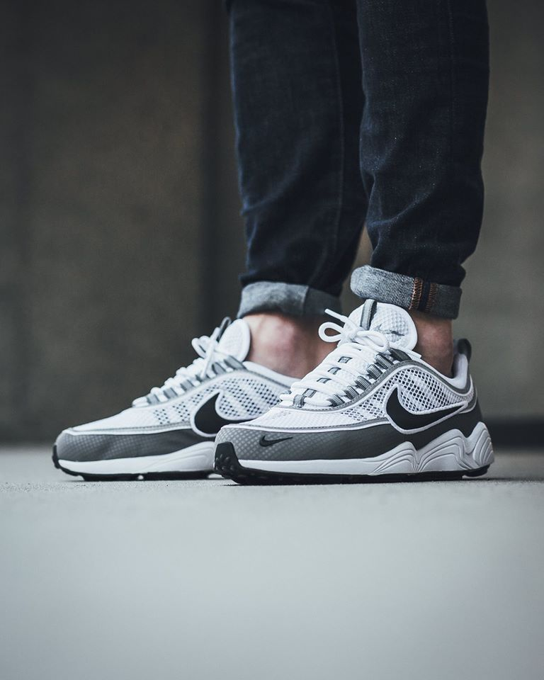 classic buy best best cheap Now Available: Nike Air Zoom Spiridon White Light Ash ...