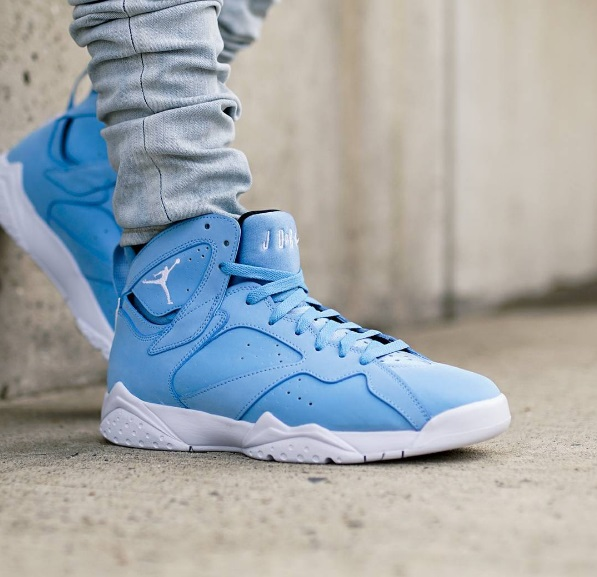 online retailer 60cbe b7a4e On-Feet Images Of The Air Jordan 7 Pantone That Releases ...