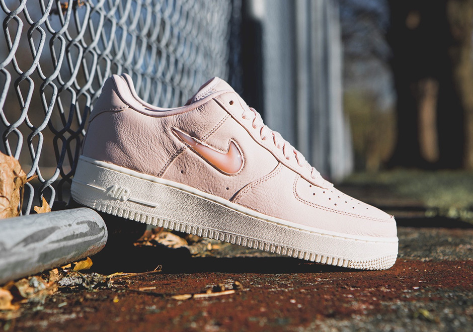 new arrival af62a 68b24 The NikeLab Air Force 1 Low Jewel Silt Red Drops In A Few ...