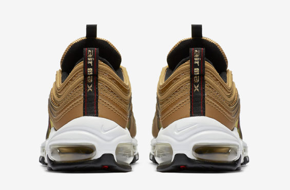 sale retailer 5b21d 1f04c Now that the classic Nike Air Max 97 Silver Bullet made its return, it only  makes sense for the Nike Air Max 97 Metallic Gold to follow suit, right