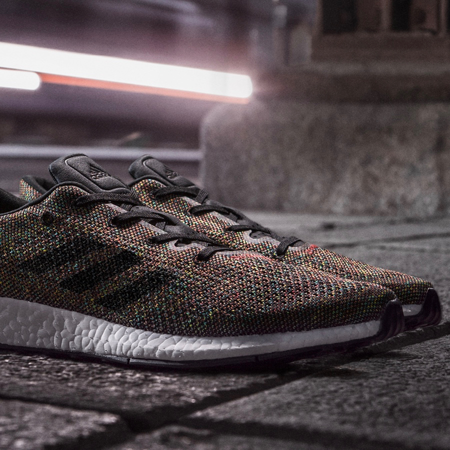 The adidas Pure Boost DPR LTD Rainbow Releases Tomorrow
